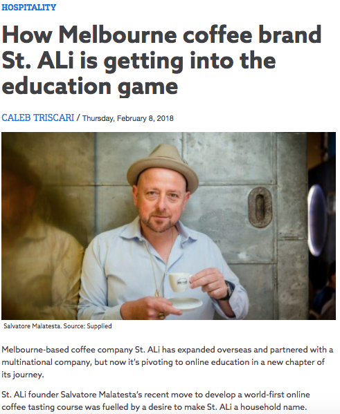 Case Study: ST ALi 'Learn To Taste Coffee' Public Relations Launch.